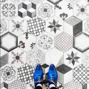 5_mosaico black white
