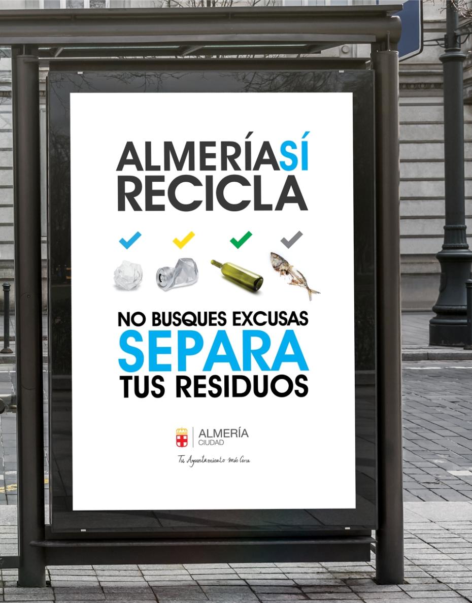 Mupi - Almería si recicla