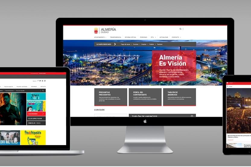 Ayuntamiento Almería - web - Taller Agencia