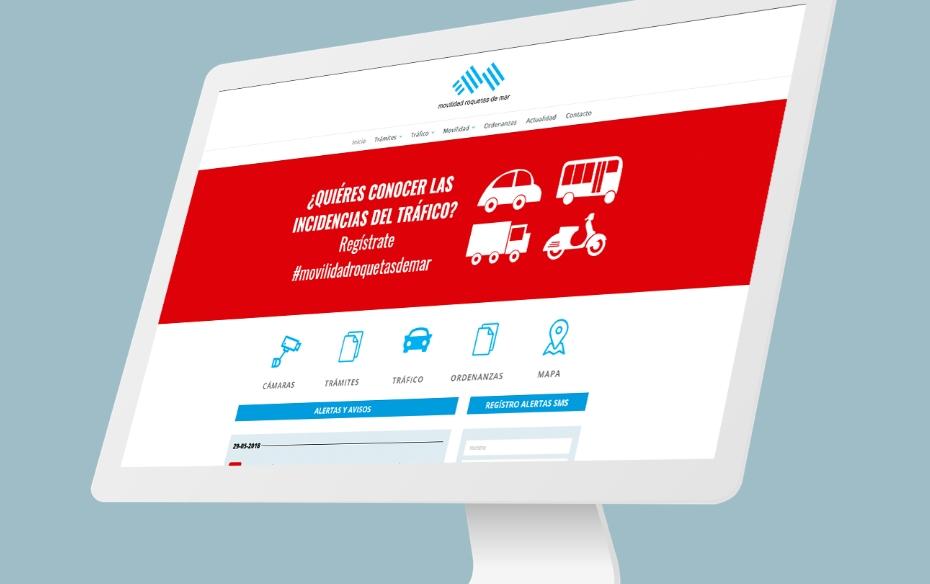 Web Movilidad Roquetas de Mar