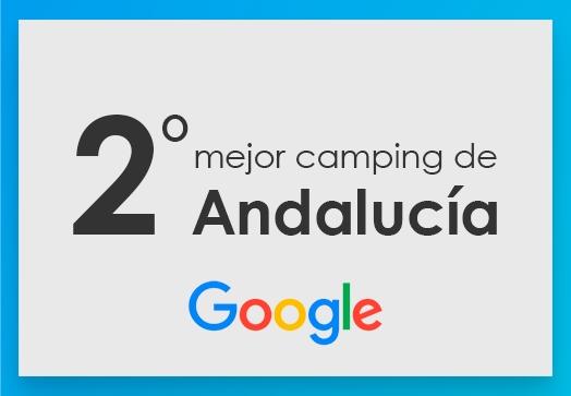 2º mejor camping de Andalucía