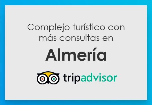 Complejo turístico con más consultas en Almería