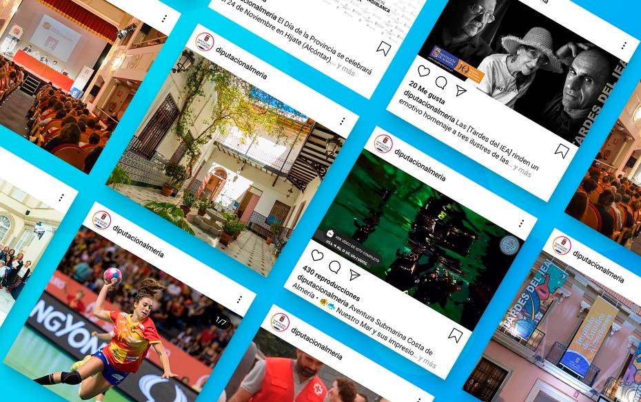 Instagram Institucional Diputación de Almería - Taller Agencia