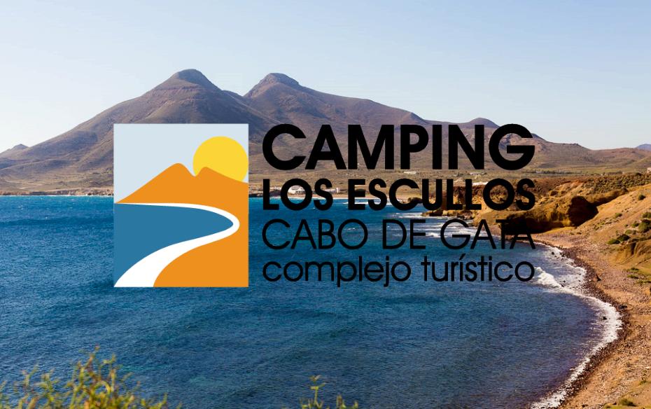 logotipo Camping los escullos - cabo gata complejo turistico