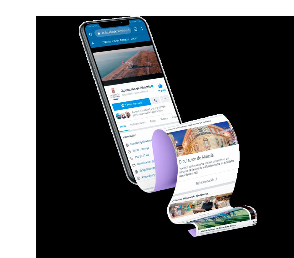 Resultados Marketing Digital Diputación Almería - Taller Agencia