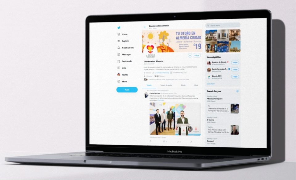 Marketing Turístico Digital Twitter - Taller Agencia