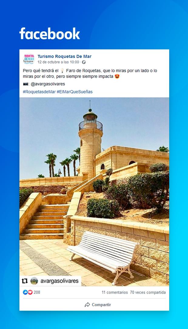 facebook Roquetas de Mar