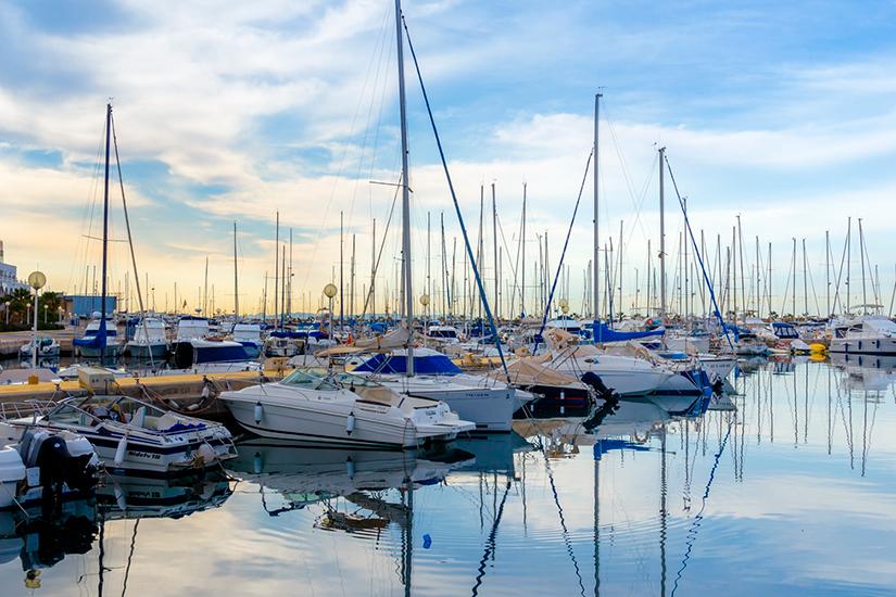 Puerto deportivo de Aguadulce - Roquetas de Mar - Almería