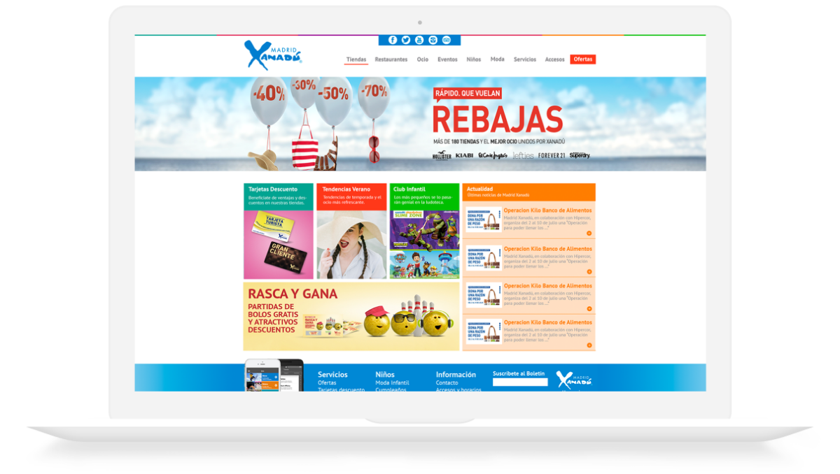 Madrid Xanadú - página web