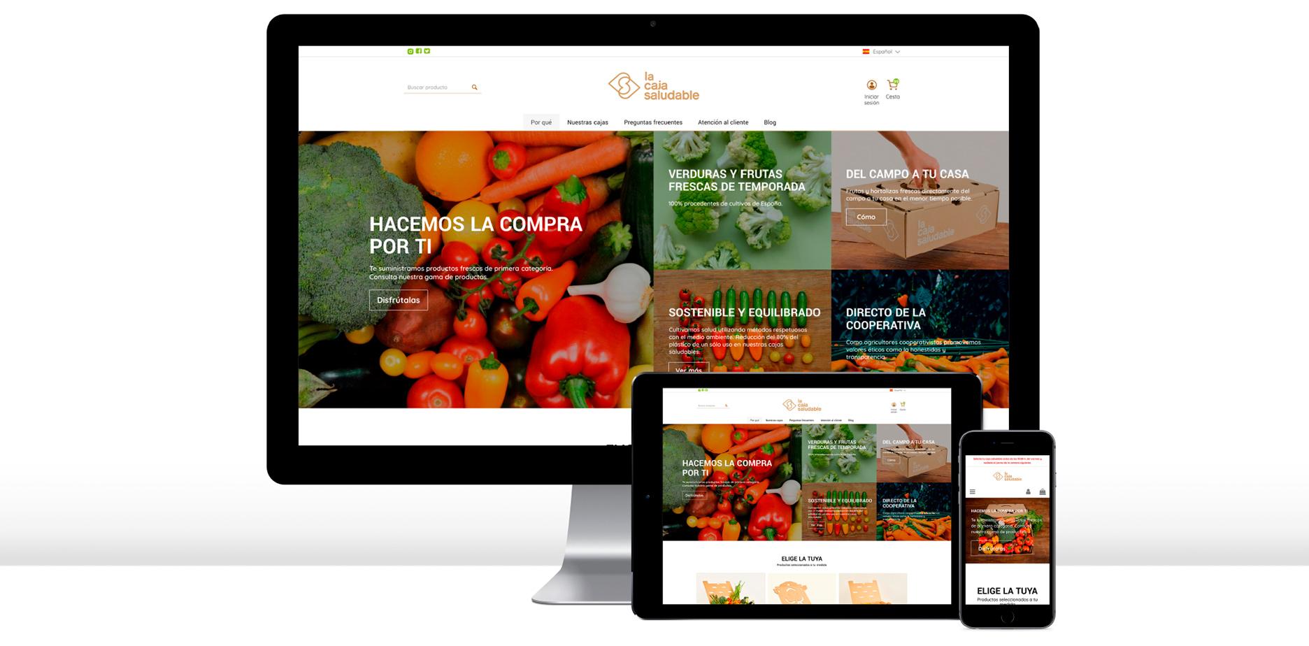 La caja saludable - Nuestros proyectos - Taller Agencia