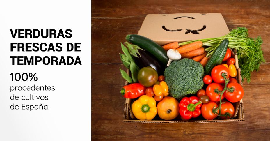 Verduras frescas - Caja saludable - Taller Agencia